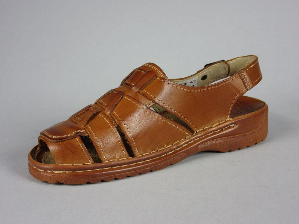 76c6e34b274a Sandały męskie skórzane Maximus 009 rozmiary  40